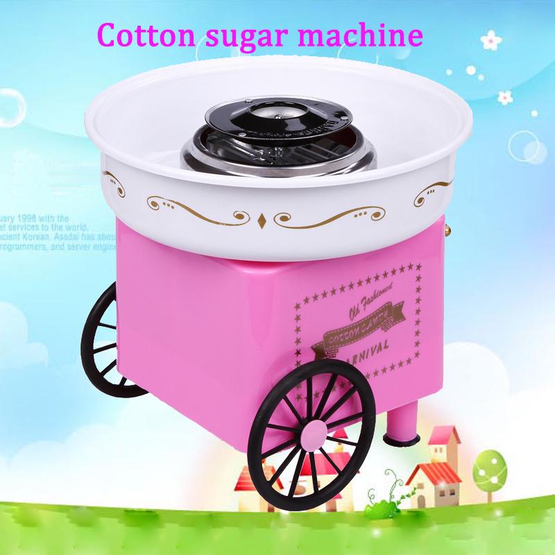 Гаджет  Hot Sell Nostalgia Free Sugar Cotton Candy Maker Machine DIY Vintage Collection Hard   Cotton Candy Maker  Candy Floss Machine None Бытовая техника
