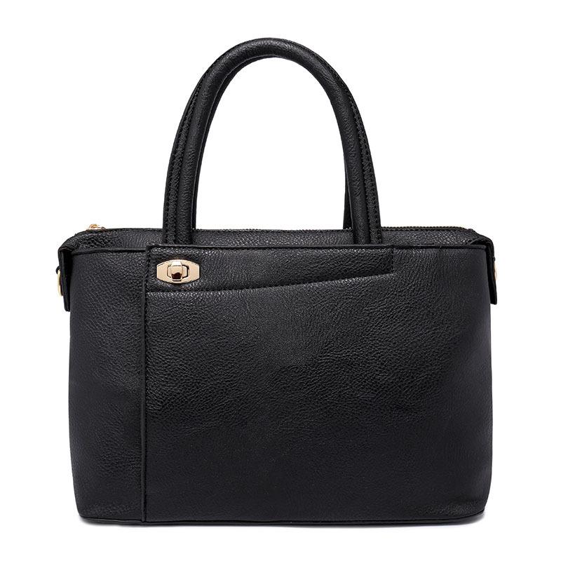 2016 New Fashion Quality PU Leather Handbag Womens Versatile Soft Messenger Bag Casual Shoulder Totes Bags Bolsa Feminina smb451