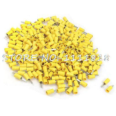 48A 6mm Dia Insulating Blade Terminals DBV5-10 Replacement 500 Pcs<br><br>Aliexpress