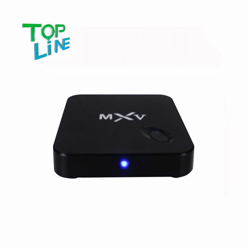 ANEWKODI MXV Quad Core Android TV BOX S805 1GB/8GB Cortex 1.5 GHZ Android 4.4.2 KODI WIFI Bluetooth H.265 HEVC Media Player(China (Mainland))