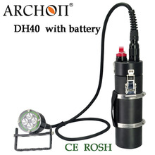 Buy 100% Original Archon DH40 WH46 Cree XM-L U2 Canister Snorkeling Scuba Diving LED Headligh battery for $750.00 in AliExpress store