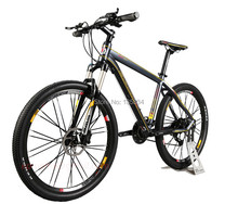 B131 Aluminum Frame 26X17 Mountain Bike 27 Speeds Oil Fork Mens Mountain Bike Bicicletas Oil Disc Brake Mountain Bikes for Sale(China (Mainland))