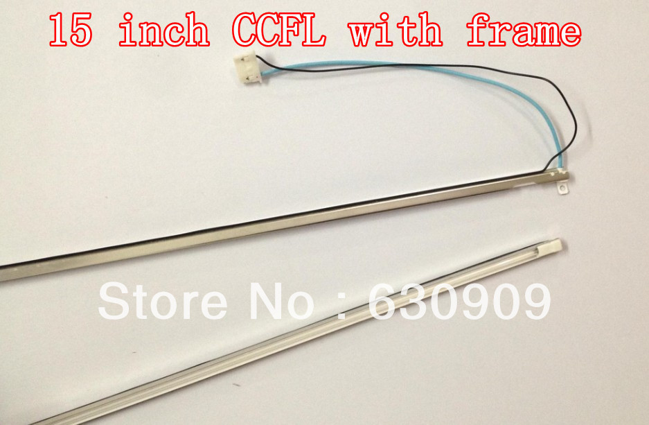 15 inch single lamps CCFL cover,CCFL frame,LCD monitor lamp backlight ,CCFL:315x2.4mm,FRAME:320x4mm - Dian He's store
