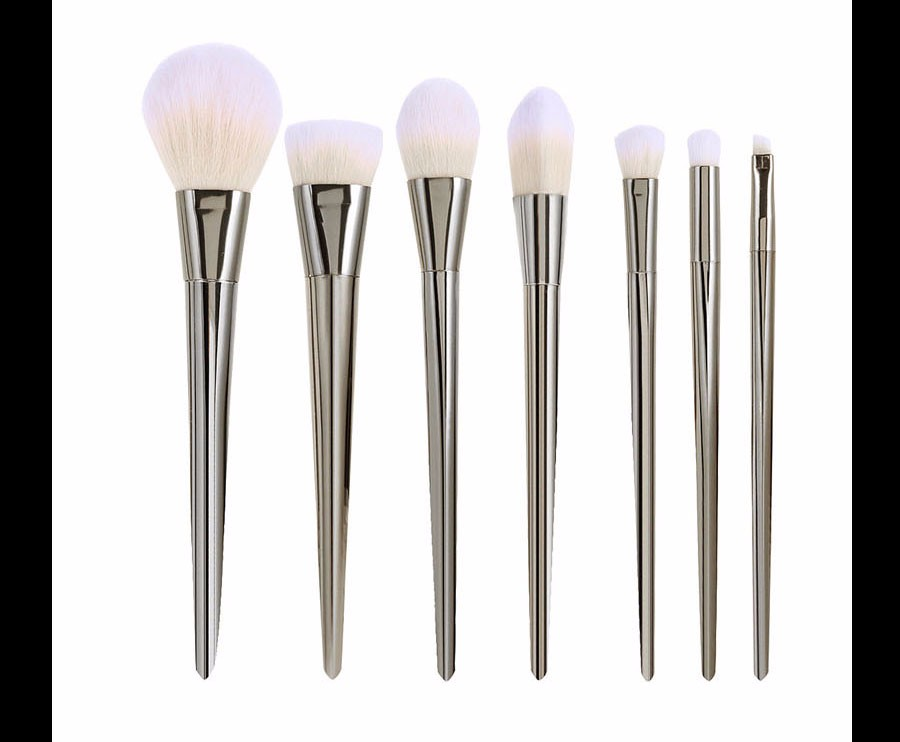 8 Real Techniques Brushes Gold Makeup brushes 7 pcs