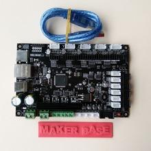 3Dpriter Smoothieware controller board MKS SBASE V1.2 opensource 32bit Smoothieboard Arm support Ethernet preinstalled heatsinks(China (Mainland))