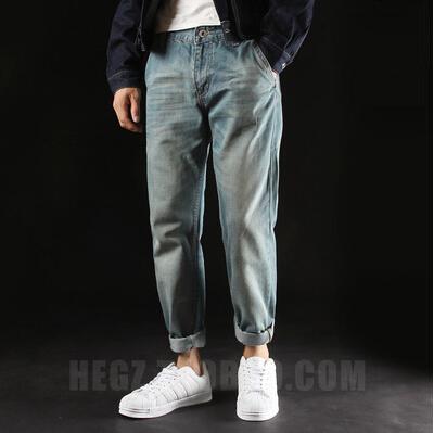 Unique Design Mens Straight Casual Jeans Male Hiphop Vintage Denim TrousersОдежда и ак�е��уары<br><br><br>Aliexpress