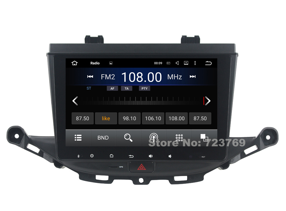 9 inch Screen Android 5.1 Car DVD Player GPS Navigation System Media Stereo Audio Video for OPEL Astra K