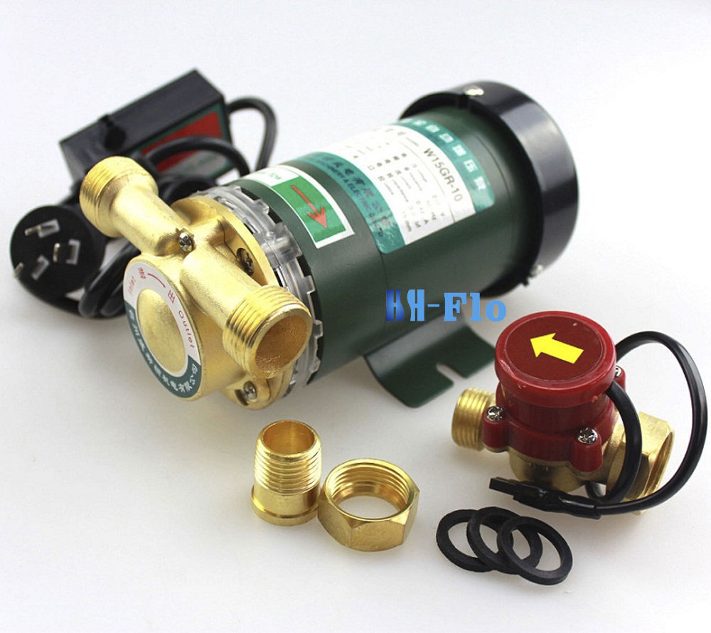 New 220V 90Watt Electronic Automatic Home Shower Washing Water Booster Pump(China (Mainland))