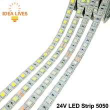 DC24V LED Strip 5050 Flexible LED Light RGB LED Strip 60LEDs/m 5m/lot.(China (Mainland))