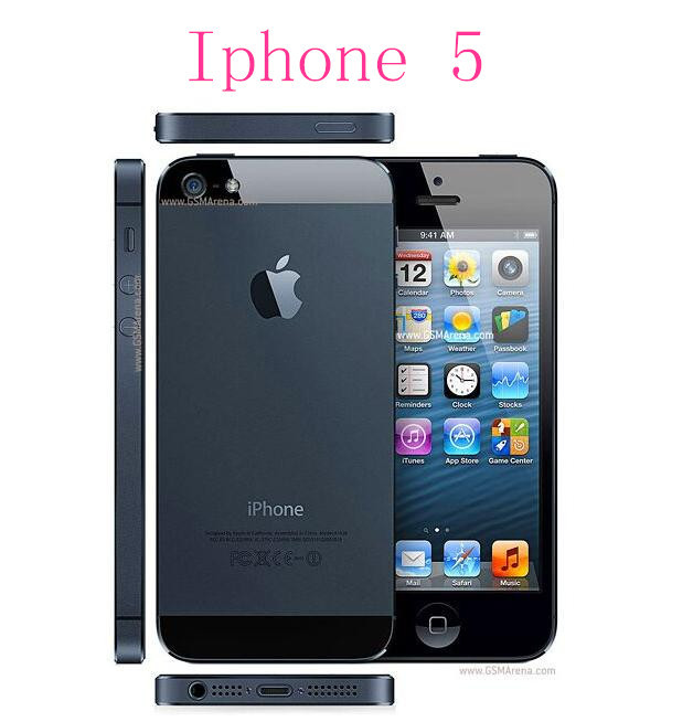 Мобильный телефон APPLE 5pcs/iphone 5 iOS 6 OS 16 32 64 4.0' 8MP WIFI 3G GPS мобильный телефон 5c 100% iphone 5c ios 8 4 0 ips 8mp 1080 p 16 32 64 wifi 3g apple