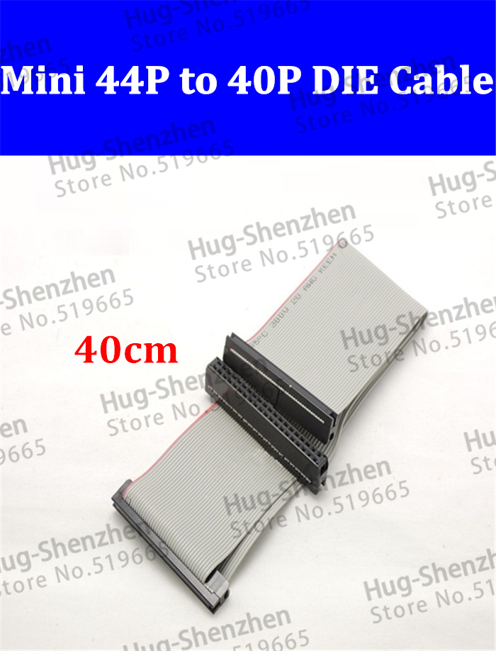 High quality hard disk 2.5 to 3.5 adapter cable mini 44pin to 40pin IDE cable laptop IDE to IDE date cable for laptop desktop(China (Mainland))