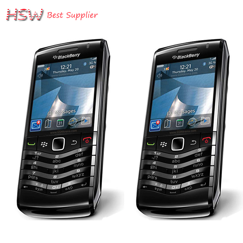 100% Original BlackBerry Pearl 9105 Mobile Phone 3G GSM WiFi Smartphone Quadband Unlocked(China (Mainland))