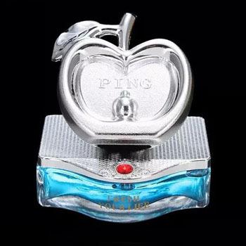 Luxury apple car perfume seat perfumes 100 original interior car styling ornaments brand women air freshener bottle(China (Mainland))