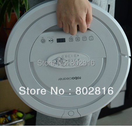 Free shipping High Suction Power , Top 5 in1 Multifunctional Auto Vacuum Cleaner Robot With V-Shaped Rolling Brush(China (Mainland))