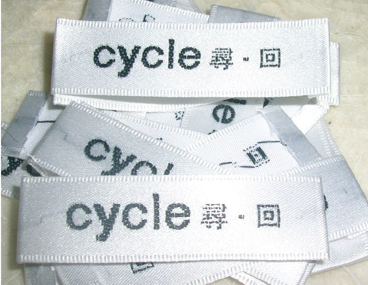 Special Offer High-Grade Woven Edge Satin Lollar Label .1000PCS /Lot Free Shipping(China (Mainland))
