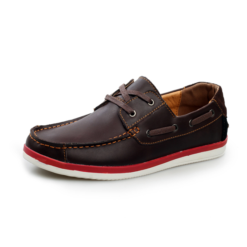 big deal wholesale mens boat shoes genuine leather