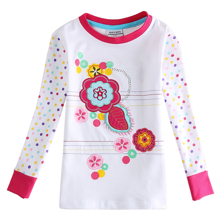 Children Clothing T Shirts For Girls Nova Kids Girls