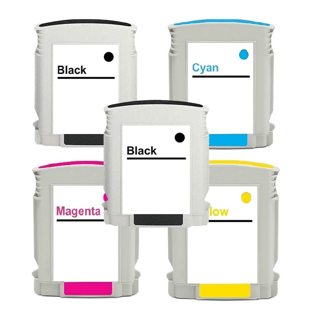 2015 New 5pk New ink For HP 940XL 2B/C/M/Y Ink jet Cartridge 8000 8500 with chip [New ink Listing]<br><br>Aliexpress