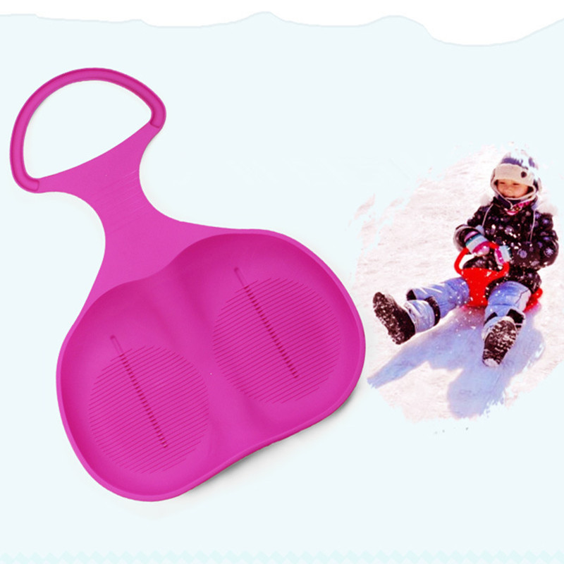 Winter Adult Children Snow Board Grass Skiing Snowboard Easy Ski Sled Skiing Sleigh for Winter Outdoor Sport 2016 Hot Sale(China (Mainland))