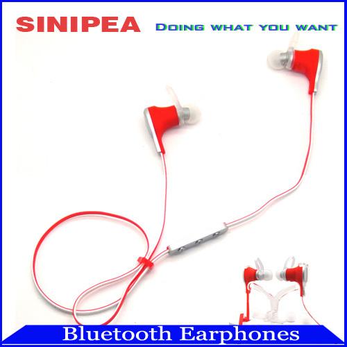 New 2015 Bluetooth Earphone Wireless Headphone Headset Sports Waterproof Earphones Car Handsfree Support ios Samsung Galaxy(China (Mainland))