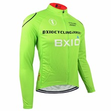 Buy Bxio Winter Thermal Fleece Cycling Jerseys Pro Bike Jersey Warm Long Sleeves Autumn Bicycle Clothing Maillot Ciclismo 011-J for $19.21 in AliExpress store