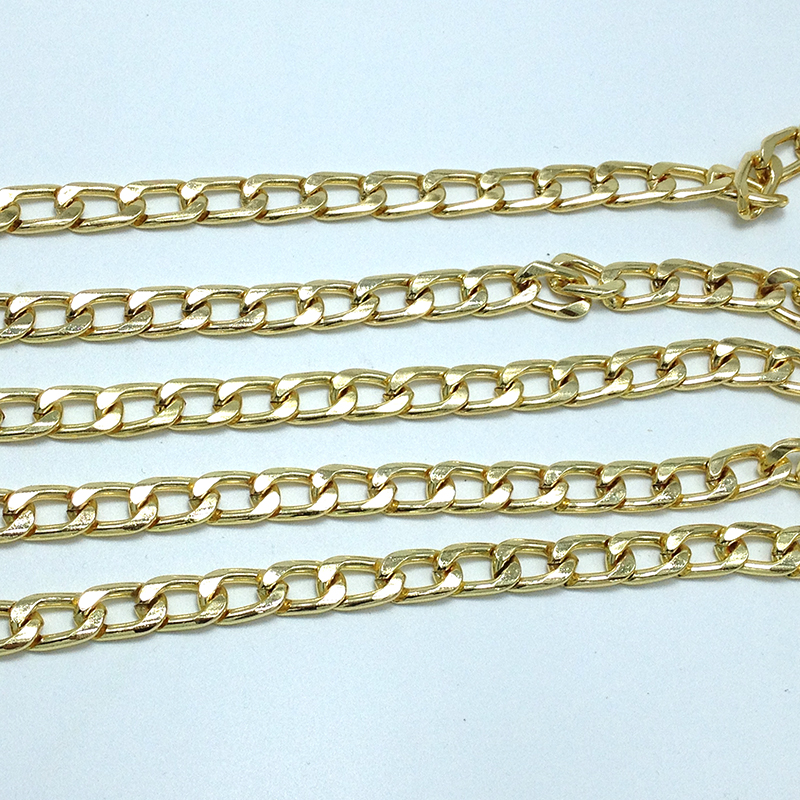 10 x 16 mm Gold Purse Chain,Purse Replacement Chains,Purse Chain Strap(China (Mainland))