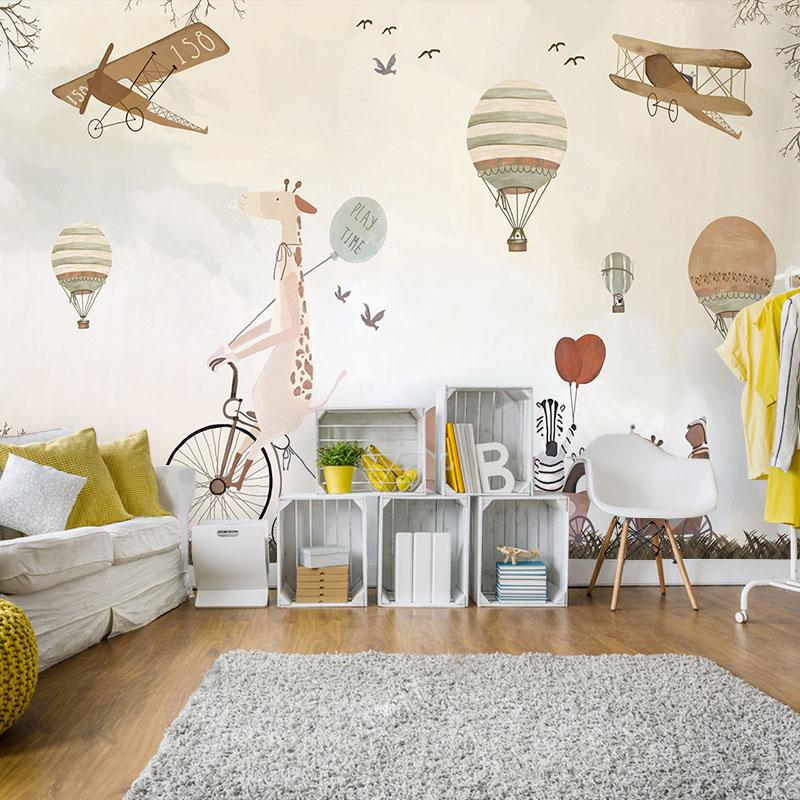 Модные обои для детской комнаты мальчика