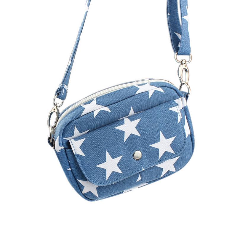 Гаджет  Durable Summer Style 4 Colors Brand New Women Star Printed Shoulder Bag Wholesale&Free Shipping None Камера и Сумки