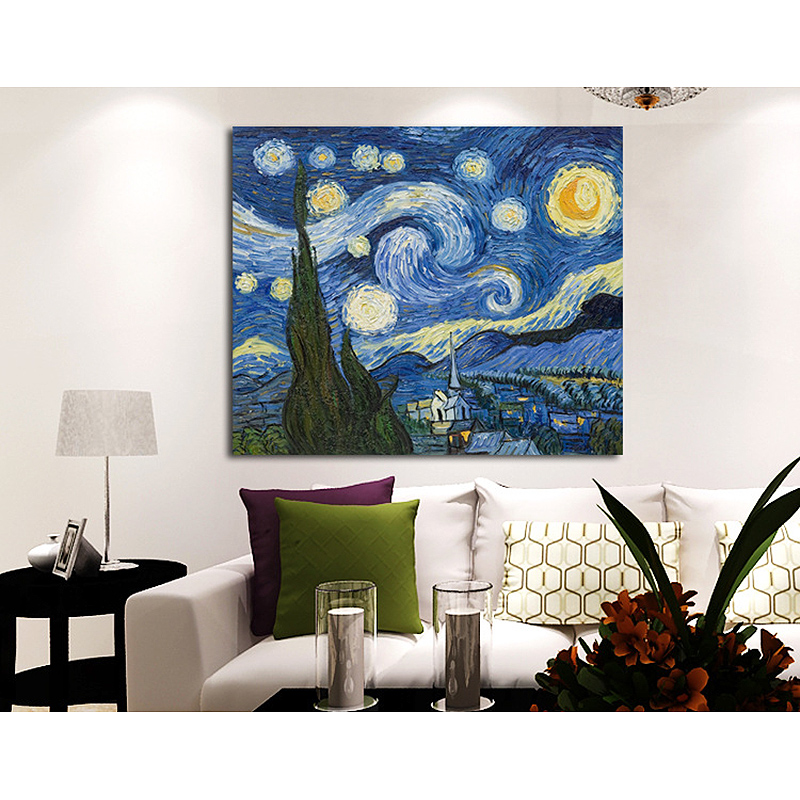 Unframed Famous Sky Abstract Oil Painting Handpainted Canvas Painting Home Decoration For unique Home Wall Art Picture Artwork(China (Mainland))