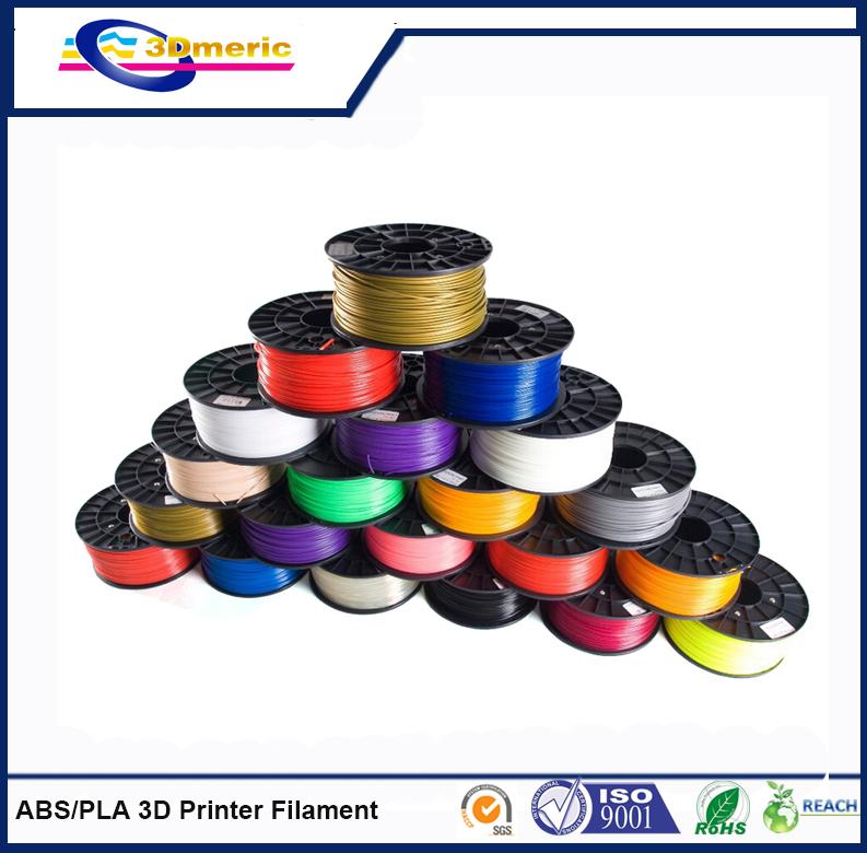 New 2015 3d printer filament orange color dual extruder 3mm abs filament printer 3d parts for