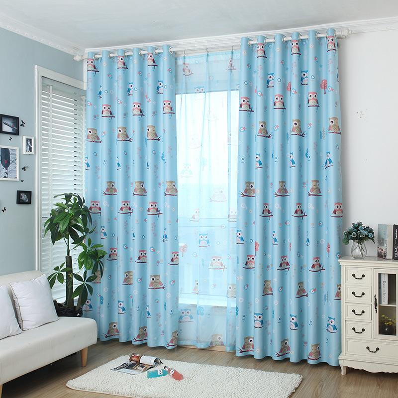 Hibou rideau promotion achetez des hibou rideau for Modele de rideau pour fenetre