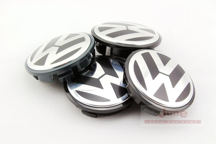 Set of 4pcs VWGenuine Wheel Hub Center Caps 65mm, 3B7 601 171, Fits CADDY EOS Jetta PASSAT Beetle(China (Mainland))