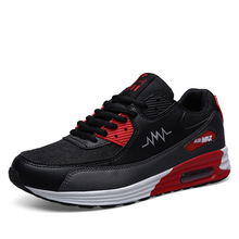 Men casual Shoes Increased Breathable basket Summer Soft Driving Men's sport comfortable high quality walking shoes Black  Gray