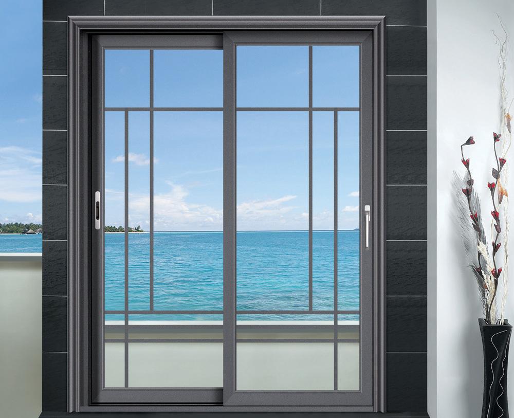 Doble acristalamiento de aluminio corredizas puertas en for Puertas corredizas aluminio para exterior