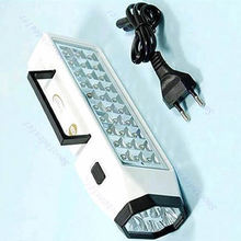 D19+LED Flashlight Mini 38-LED Rechargeable Emergency Light Lamp High Capacity(China (Mainland))