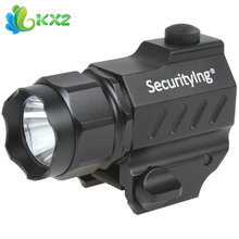 SecurityIng 400 Lumens Mini XP-G R5 LED High Power Gun-Mounted Tactical Torch(China (Mainland))