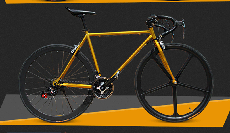 fixed gear bicycle 2015 new road bicyle 48cm 51cm 52cm steel frame diy color complete mountain