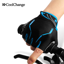 CoolChange Half Finger Cycling Gloves Mens Women's Summer Sports Bike Gloves Nylon Mountain Bicycle Gloves Guantes Ciclismo(China (Mainland))