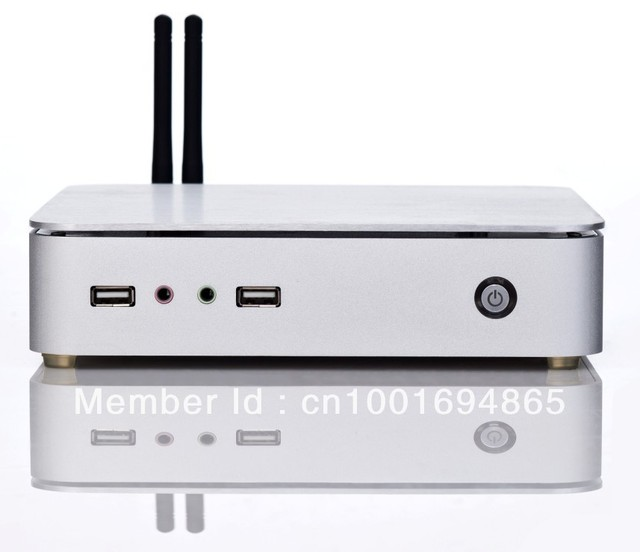2013 Latest Mini PC Station  with CPU Intel D2550 Dual-core four thread 1.86G 2G Memory and 16G SSD