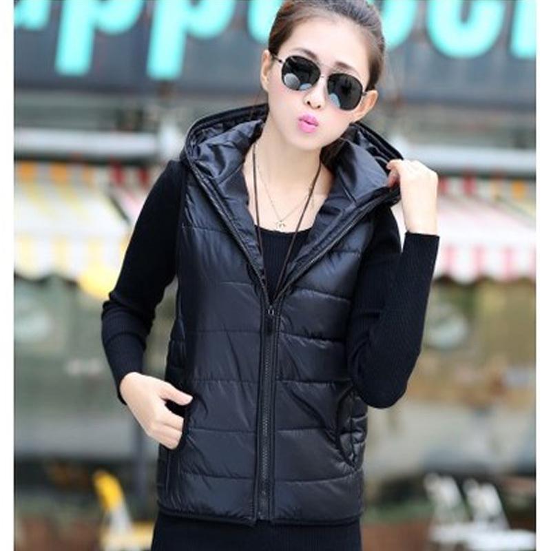 Зима в жилеты пиджаки пальто женщины зима жилет хлопок пальто для женщины зима жилет