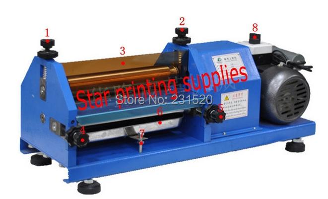 Automatic Gluing Machine 27cm Glue Coating Machine for paper, Leather, Wood(China (Mainland))
