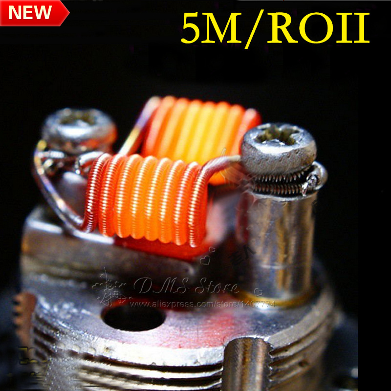 Гаджет  NEW High Quality Spring  Heating Coil Wire A1 0.4mm Wire 5m Per Roll for Ecig vape RBA RDA Atomizer DIY None Бытовая электроника