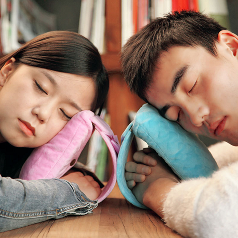 1 Pc Office Nap Pillow Messager Student Lunch Relax Pillow Everywhere Nod Off To Sleep Good Quality Sleep Artifact(China (Mainland))