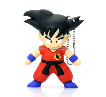 2015NEW, Bulk pen drive cartoon Dragon Ball gift 4gb 8gb 16gb 32gb 64gb star war usb flash drive prawn pendrive free shipping