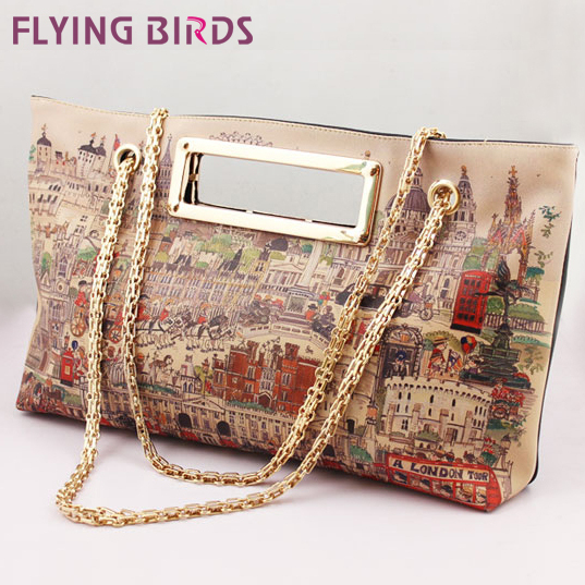 FLYING BIRDS! Hot Sale Fashion women Handbag Women High Quality Shoulder Messenger Bags Leather Bag LS1965(China (Mainland))