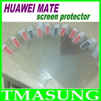 2014 free shipping  High Quality huawei HUAWEI mate  phone Protector Screen film  guard 10pcs/lot