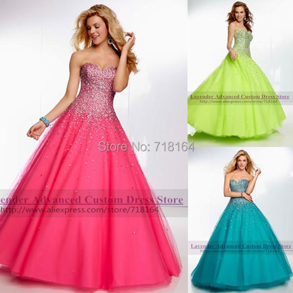 Compra vestidos de quincea 241 era azul verde online al por mayor de