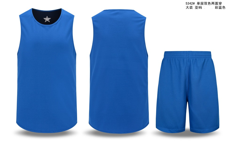 2016 Men's Double-sided Set Wear Reversible Basketball Clothes Suit Training Shirt+shorts Game Uniforms Custom Design Clothing(China (Mainland))