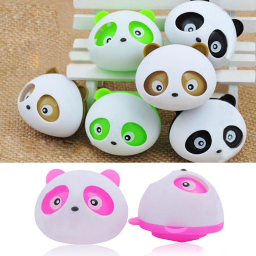 2Pcs Air Freshener Blink Lovely Mini Panda Perfume Fragrant Flavour Diffuser For Auto Car Dashboard Vehicle 4 Color(China (Mainland))