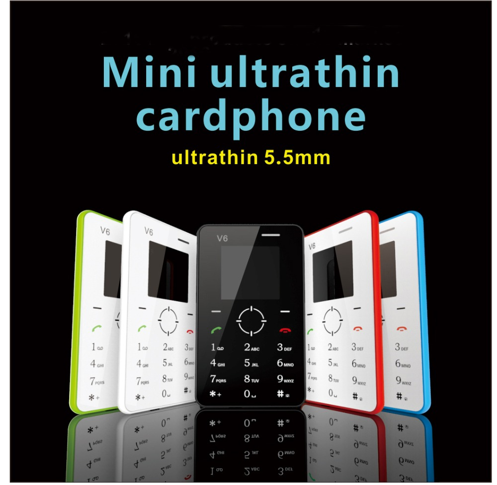 New Mini Phone V6 Color Screen Cell Phone Ultra Thin Children Mobile Phone Low Radiation GSM Bluetooth(China (Mainland))